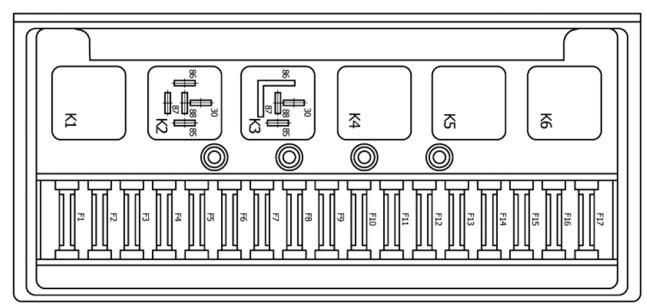 Вопрос: электрическая схема ваз 2107 инжектор.