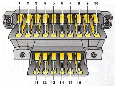 террано схема электрическая